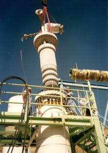 детандер для производства сжиженного природного газа