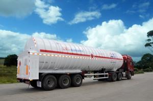 Перевозка сжиженного природного газа автомобильным транспортом