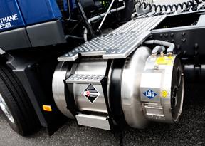 газовый двигатель на сжиженном природном газе (СПГ)