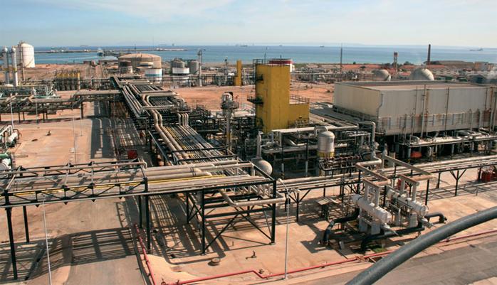СПГ-завод в Алжире (Arzew LNG)