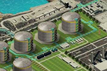 регазификационный терминал сжиженного природного газа