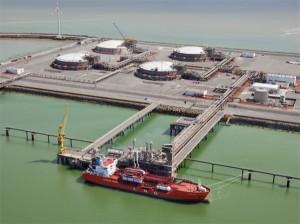 СПГ-терминал сжиженного природного газа (Бельгия, Zeebrugge)