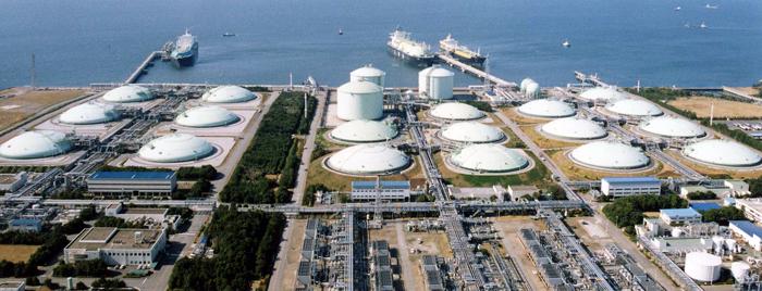 Регазификационный СПГ-терминал (Tokyo Gas, Япония, Sodegaura, Chiba)