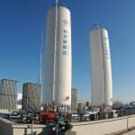резервуары хранения сжиженного природного газа (СПГ)
