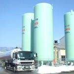 резервуары хранения СПГ (сжиженного природного газа)
