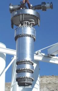 детандер для сжижения природного газа