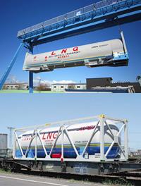 Перевозки сжиженного природного газа  железнодорожным транспортом