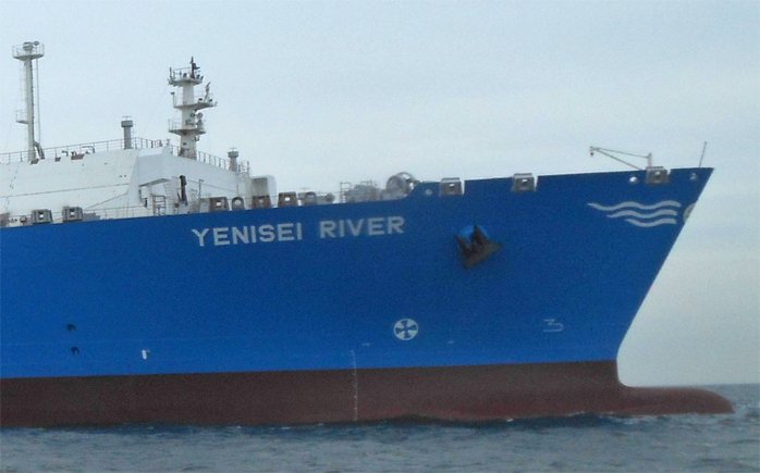 СПГ-танкер «Река Енисей» (YENISEI RIVER)