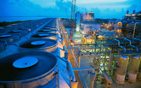 Производство сжиженного природного газа (СПГ)